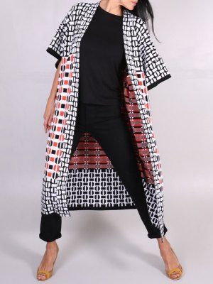 knitted kimono jacket made from cotton in South Africa