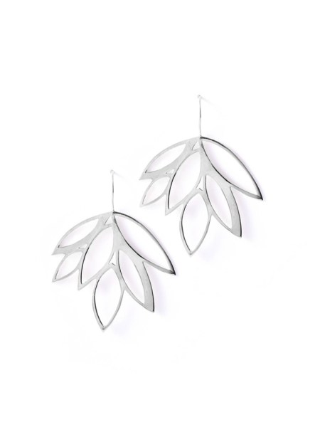 Kirsten Goss Balti Earrings Silver