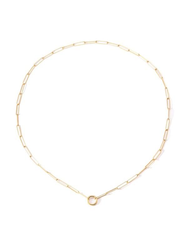 Kirsten Goss Lifesaver Rocket 80 Necklace Gold Vermeil