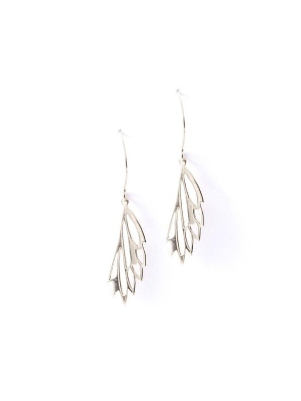 Kirsten Goss Mini Fragma Earrings Silver