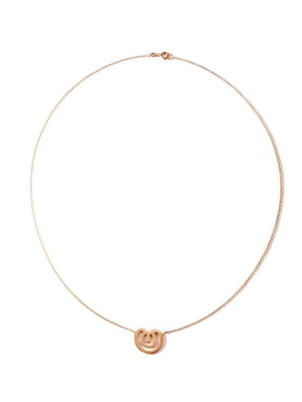 Kirsten Goss Wildcard no.22 necklace Rose Gold Vermeil