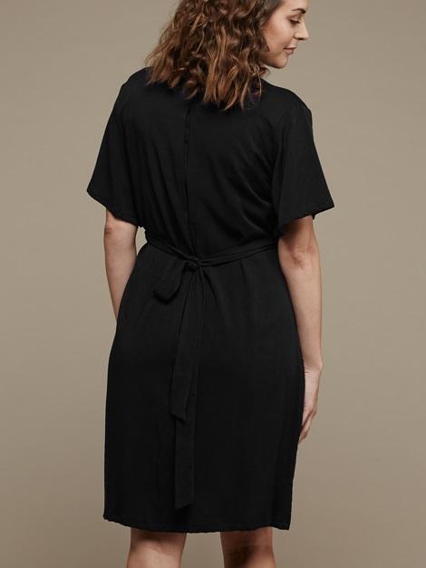 Mareth Colleen April4Mom Dress Black Back