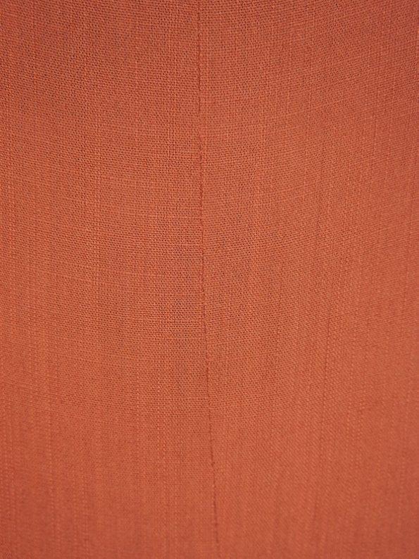 Mareth Colleen Camile4Mom Dress Rust Fabric
