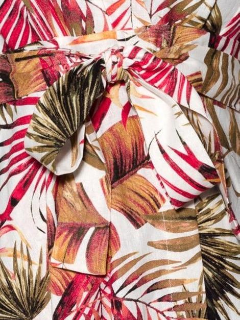 Mareth Colleen Perry4Mom Leaf Fabric