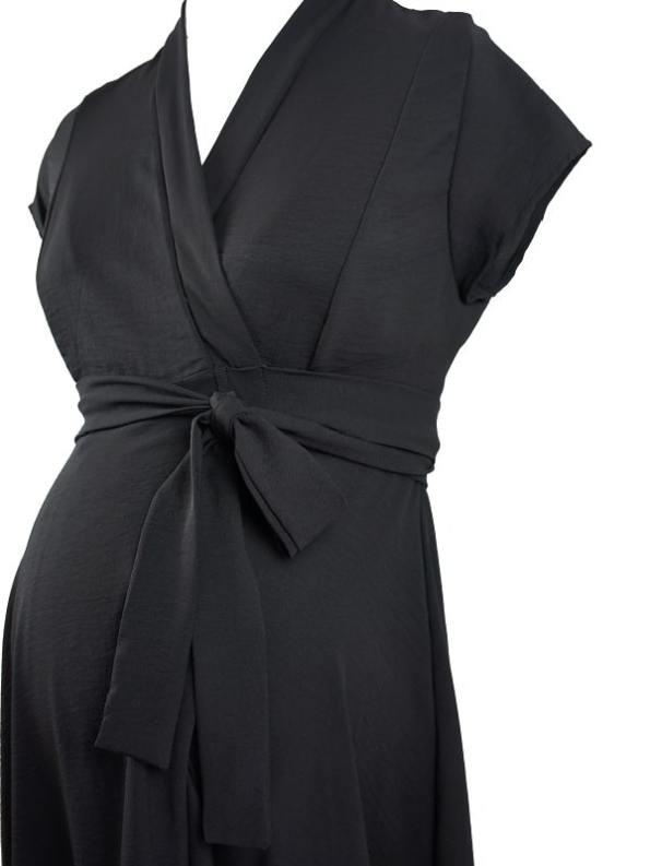 Mareth Colleen Philly4Mom Dress Black Detail
