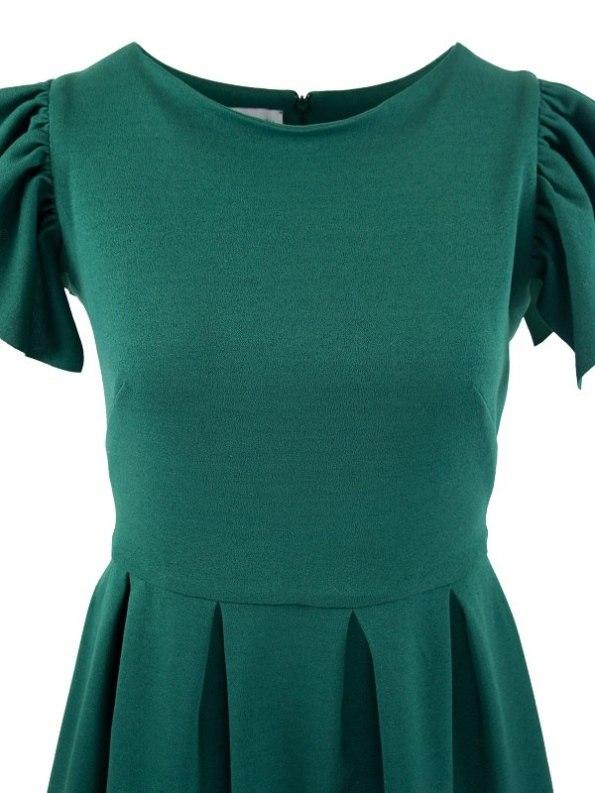 Mareth Colleen Tam Dress Green Bodice