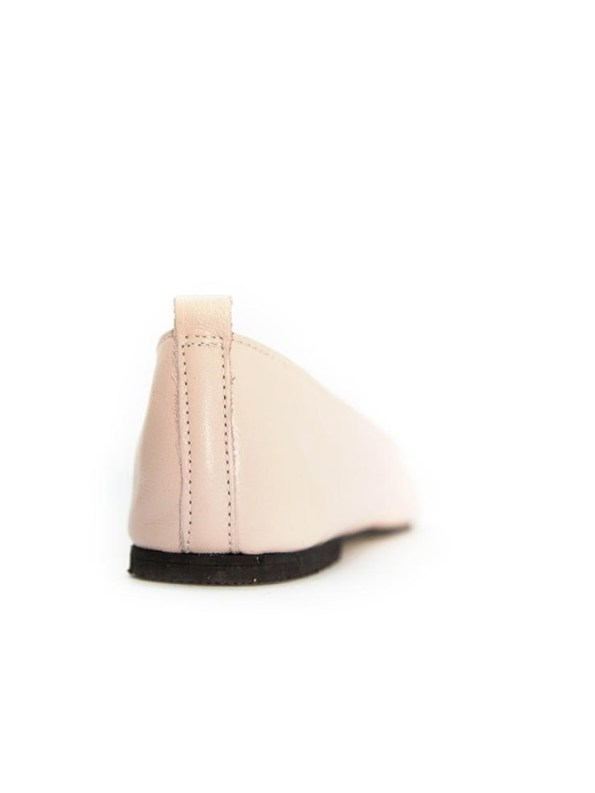 House Of Cinnamon Fama Pointed Flat Pink Back