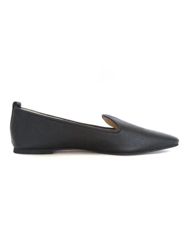 House of Cinnamon Diana Pointed Loafter Black