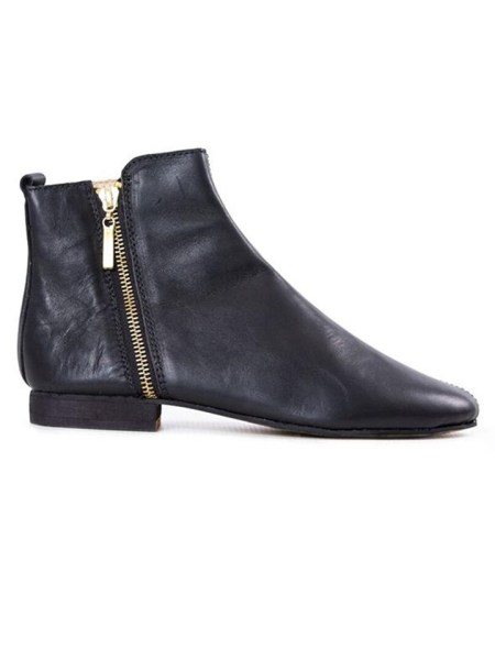 House of Cinnamon Suna Classic Ankle Boot Black