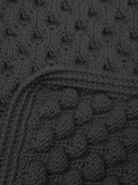 Black bubble Knit scarf South Africa