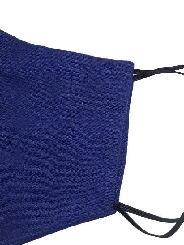 JMVB Face Mask Royal Blue Close Up