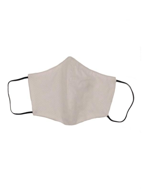 JMVB Face Mask White Oxford Front