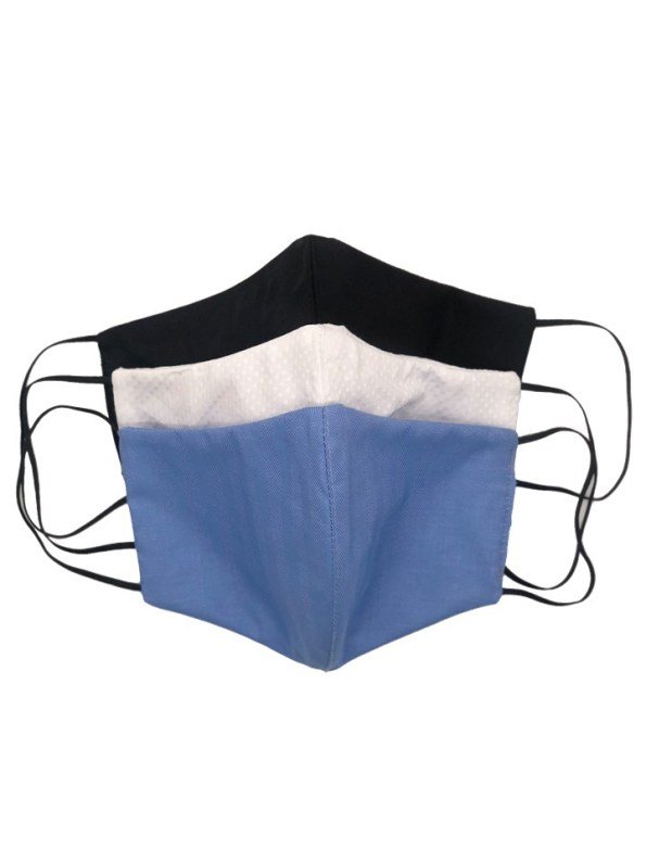 JMVB Set of Masks Lux Cotton Front
