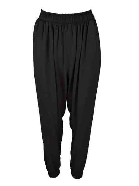 Black slouchy joggers made in South Africa