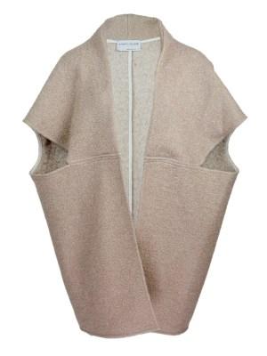 Beige Wool teddy coat jacket made in South Africa