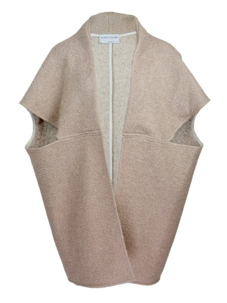 Beige Wool teddy coat jacket made in South Africa