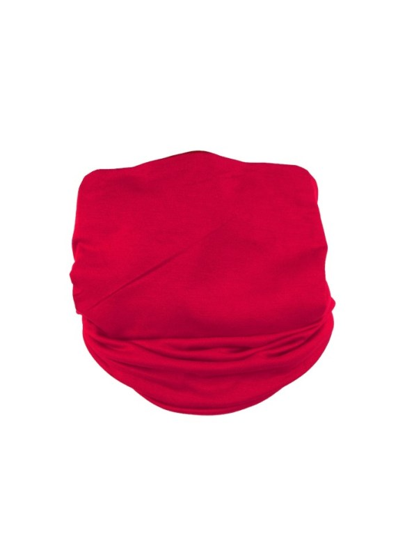Erre Scarf Mask Cherry Red