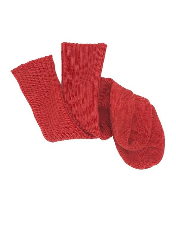 Erre Kick Back Socks Coral Mohair Blend Twisted
