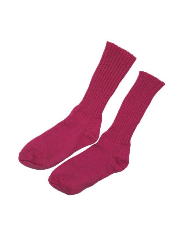 Erre Kick Back Socks Pink Mohair Blend