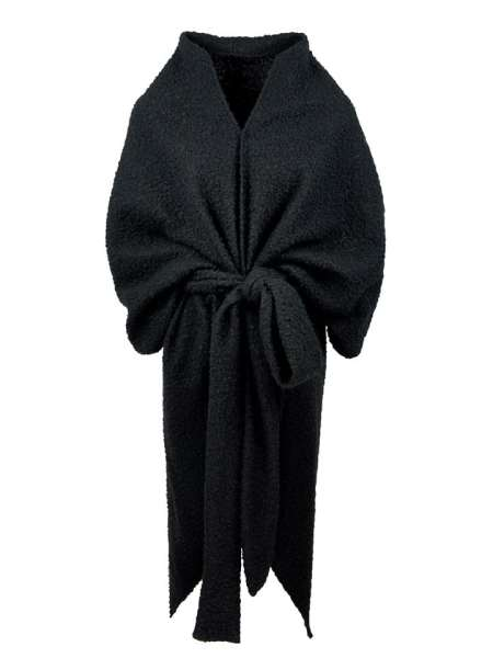 Black Shrug Teddy Coat South Africa
