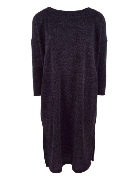 Navy Loose cut knitted dress made in South Africa