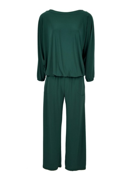 Green winter jumpsuit with long sleeves South Africa