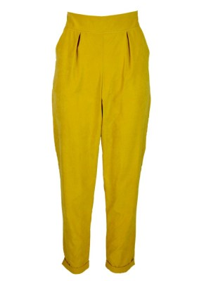 yellow straight leg ladies pants South Africa