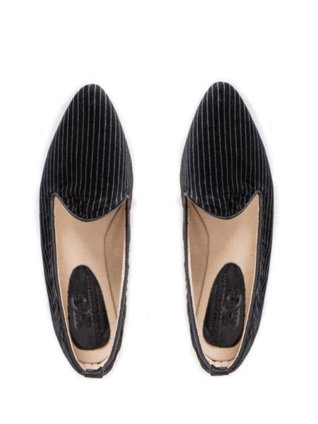 black striped ladies loafers flat shoes South Africa
