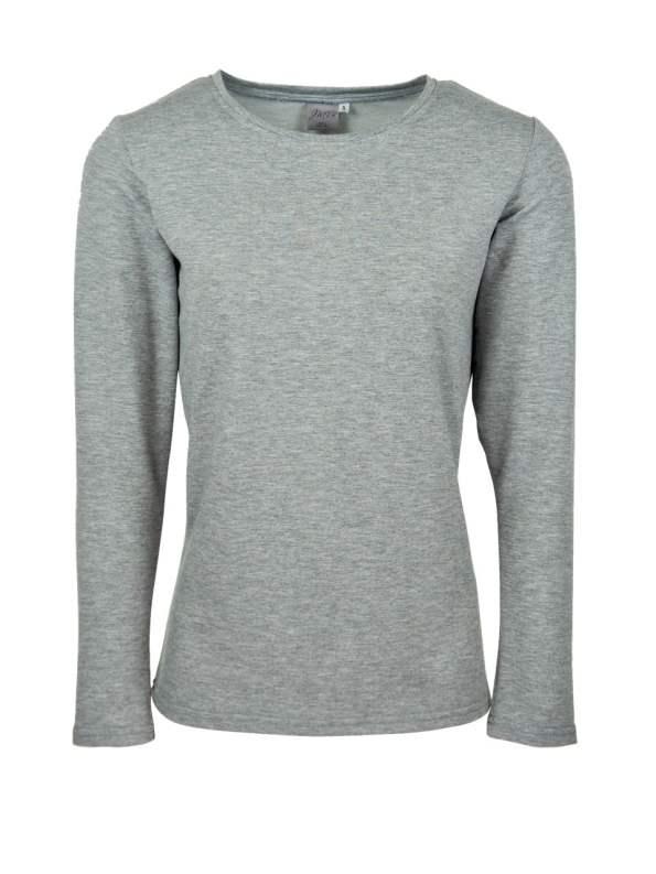 JMVB Athleisure Long Sleeve Top Grey
