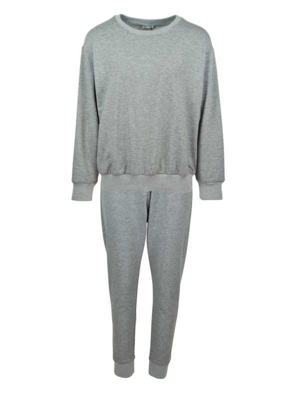 JMVB Athleisure Sweater and Sweatpants Set Grey