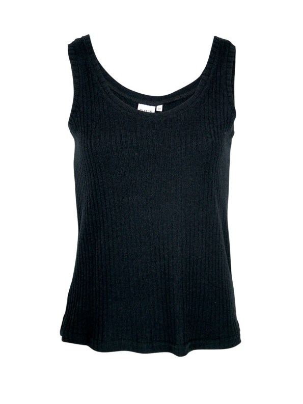 JMVB Lux Loungewear Tank Top Black