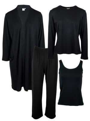 loungewear set South Africa in black