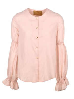 pink hemp blouse made in South Africa