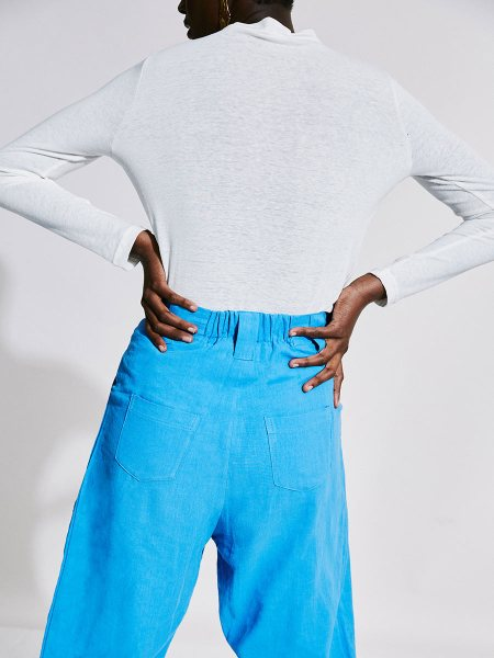 white top and blue pants womens South Africa