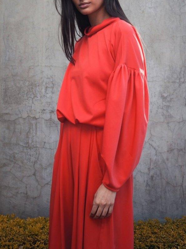 Erre Flex Red Sweater Cropped