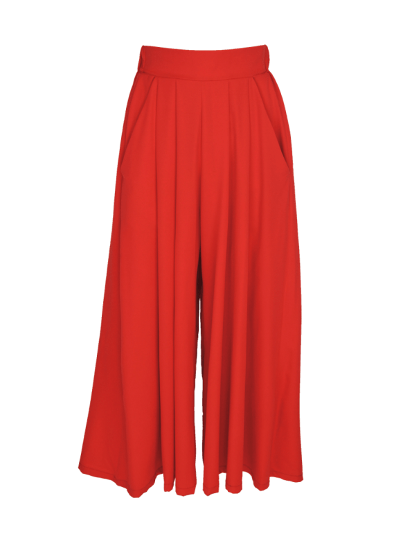 Erre Flow Culottes Fire Red