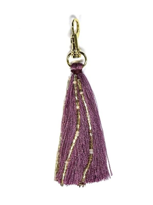 Plum Purple Tassel
