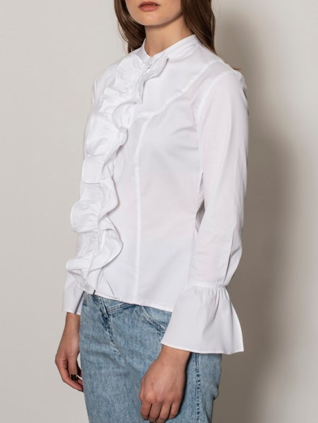 white long sleeve blouse for women South Africa