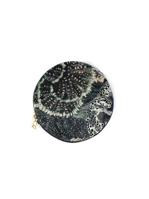 Wanderland Round Pouch Bag Urchin