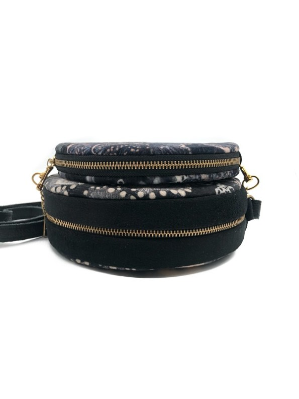 Wanderland Round Pouch and Bag Urchin Zip