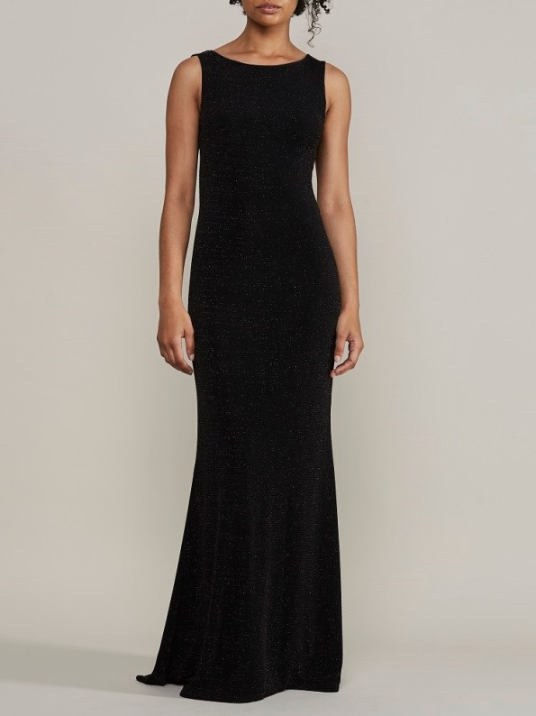 Mareth Colleen Blaire Sparkle Evening Dress Front