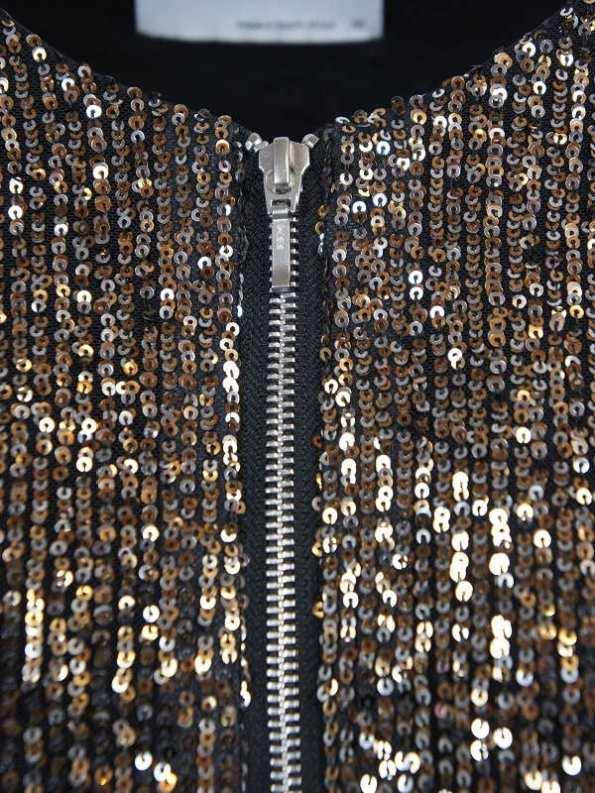 Mareth Colleen Blink Sequin Jacket Closeup
