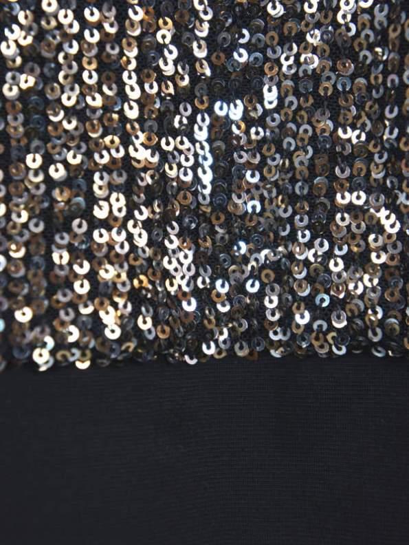 Mareth Colleen Blink Sequin Jacket Waistband