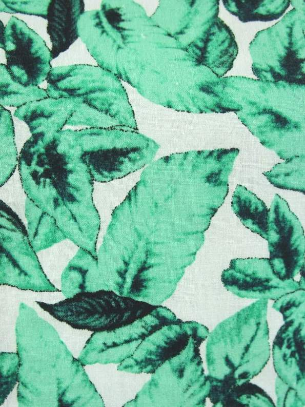 Mareth Colleen Jan Dress Basil Print Fabric