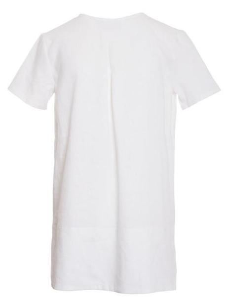 White linen top South Africa Long Length