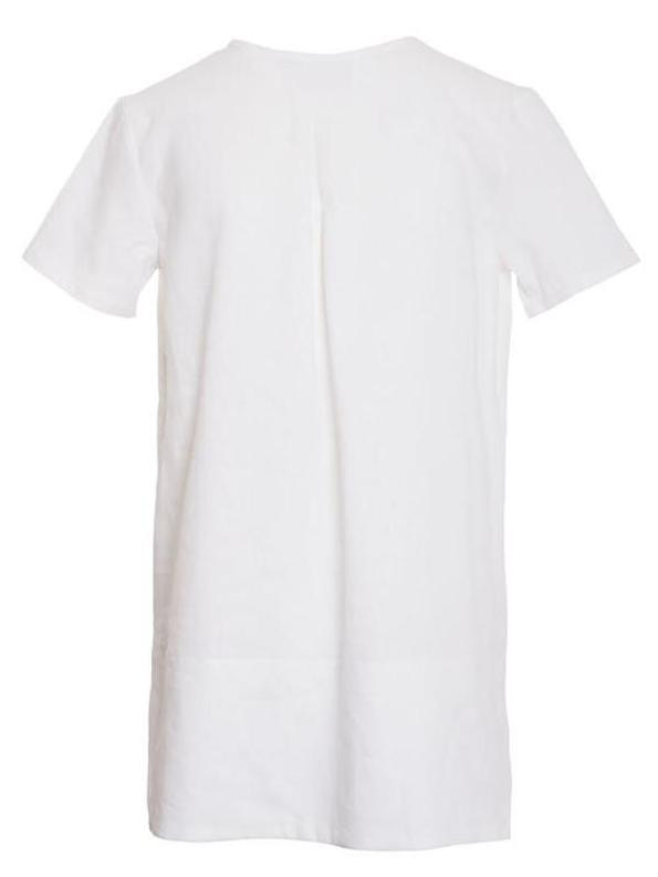 Mareth Colleen May Top White Linen Back 2