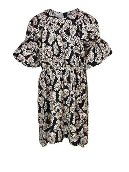 cotton dress South Africa Leaf Print