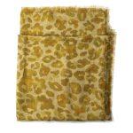 Wanderland Collective Aureum Leopard Silk Scarf