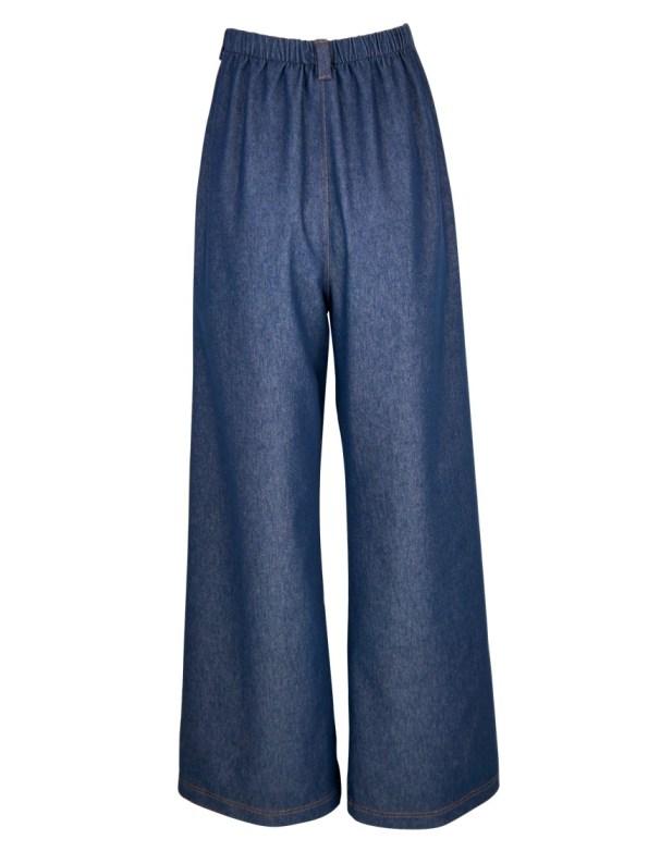 JMVB High Waisted Wide Leg Jeans Back