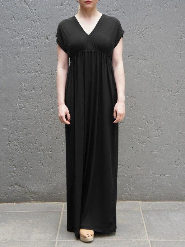 JMVB Rain Maxi Dress Black Front